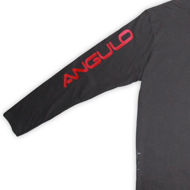 AnguloBrownLSTee-Sleeve