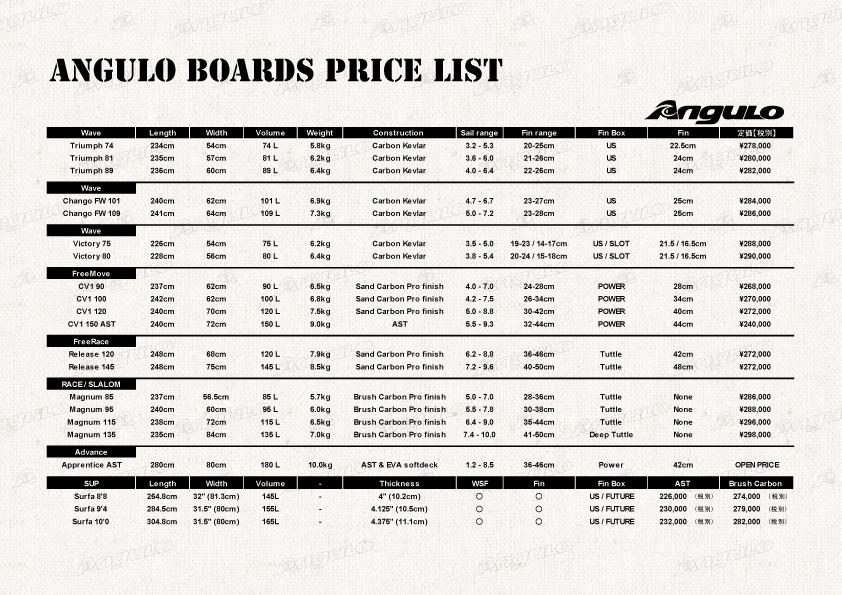 11)AnguloCatalog価格
